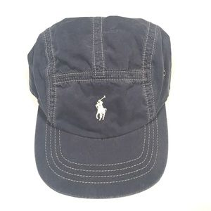 Vtg Polo Ralph Lauren 5 Panel Strapback Hat Cap